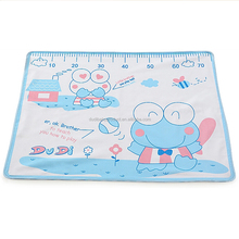 2017 hot selling Good quality 100% cotton waterproof baby diaper changing washable mat cheap urine mat