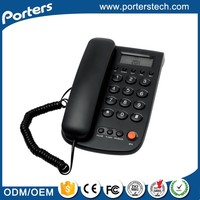 Gold Supplier China cute corded telephone,stationary phone,corded ID phone