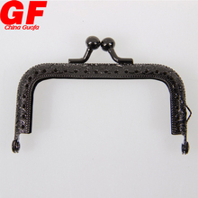 Wholesale Bag Part Accessories Purse Metal Frame Kiss Clasp Lock Metal Purse handbag Frame