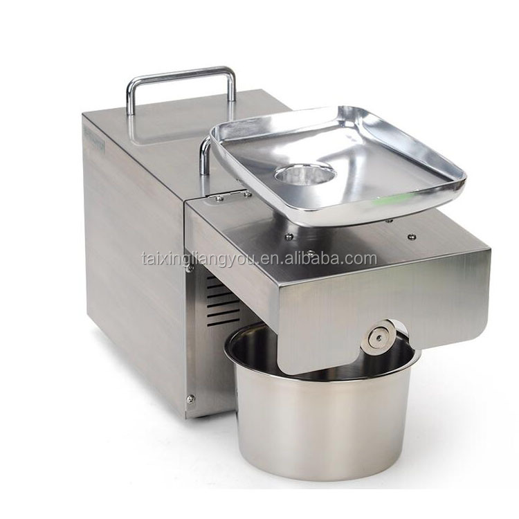 China supplier home small stainless steel cold press oil machine price