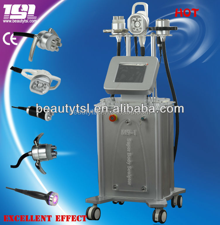 TSL-1115B money maker for salon,spa and beauty center,hot!!! home use or salon use professional vacuum cavitation rf machine