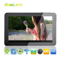 Hot!!!firmware android 4.0 tablet with Capacitive Screen 9 inch A13 Tablet PC