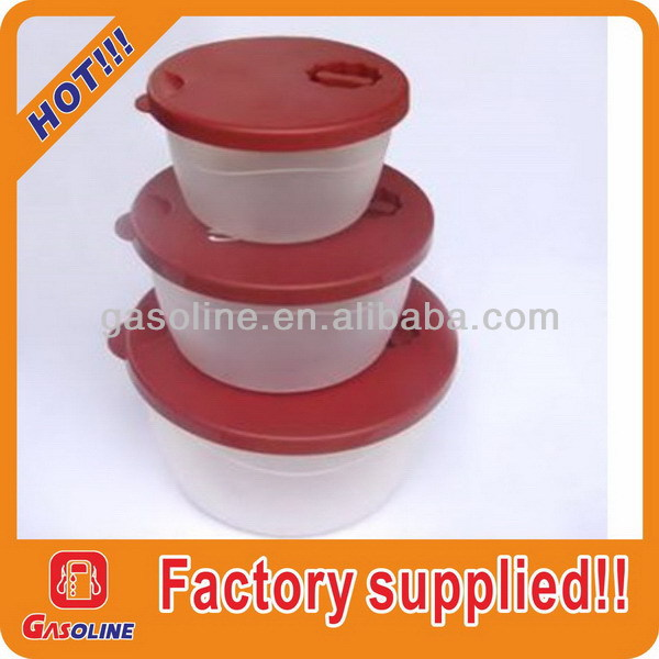 Good quality creative plastic stackable food container set