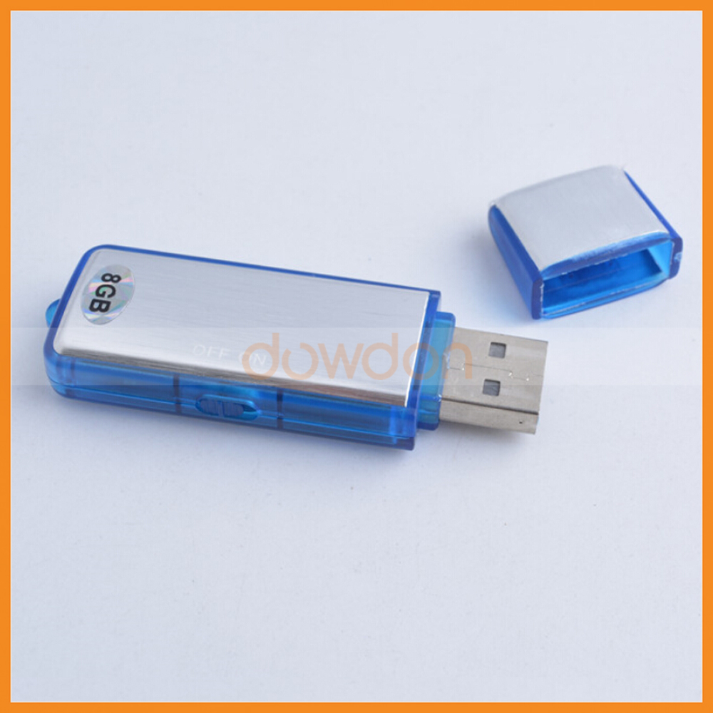 2 in 1 Voice Recorder Thumb Drive for Meetings Dictations Seminars