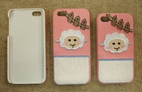 Embroidery 3D logo mobile phone cover case