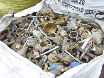 Scrap metals- ferrous and non ferrous metals
