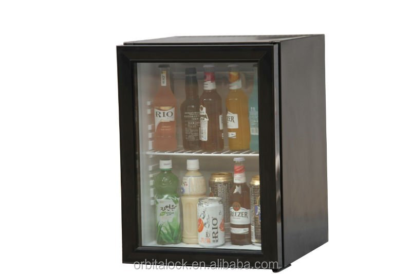 mini bar fridge, hotel refrigerator, small refrigerator