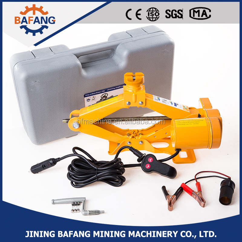 Factory price electric scissor car jacks DC 12 volt 1-10 ton lifting jack