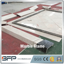 Natural Stones Beige Marble Door Frame Design