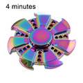 Seven Leaves 4 Minutes Rainbow Anti-Anxiety Metal Spinner Toy