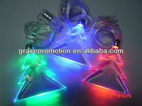 LED Flash Necklace /Lighting Necklace /Christmas Tree Flashing Necklace