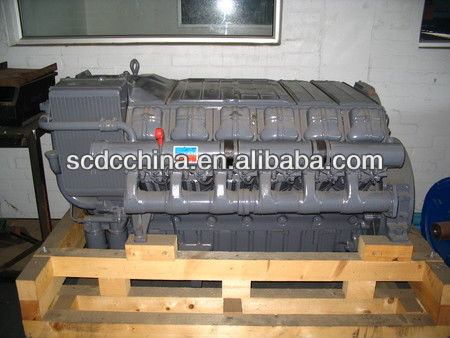 Deutz air cooling F12L413F diesel engine for special vehicle