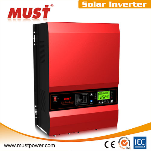 Must 12v 24v 48v MPPT 6kw solar power inverter