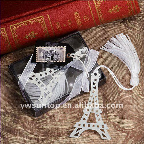 High Quality From Paris with Love Collection Eiffel Tower bookmark