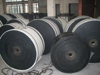 high quality polyester rubber conveyor belt for sand and gravel