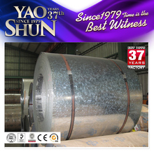 Zero spangle cold rolled galvanized steel strip coil tang band