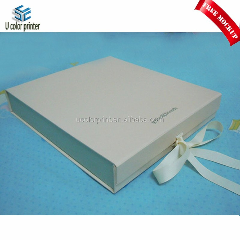 Custom elegant folding gift paper box for clothes gift packaging
