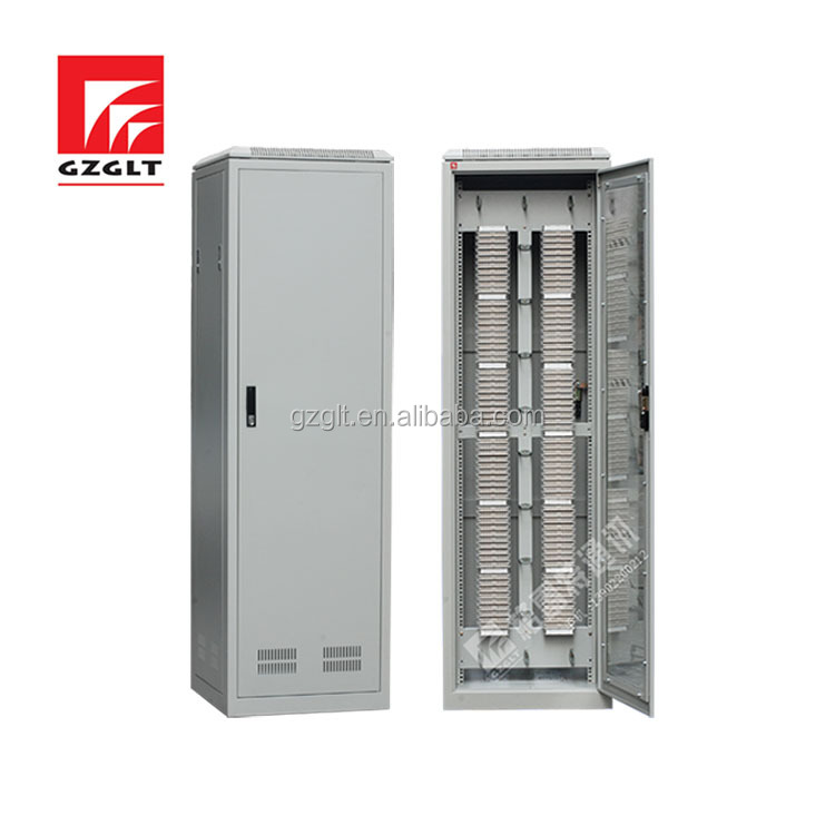 Telecom cabinet or main distribution frame pairs with krone module telecom cabinet MDF SM TYPE