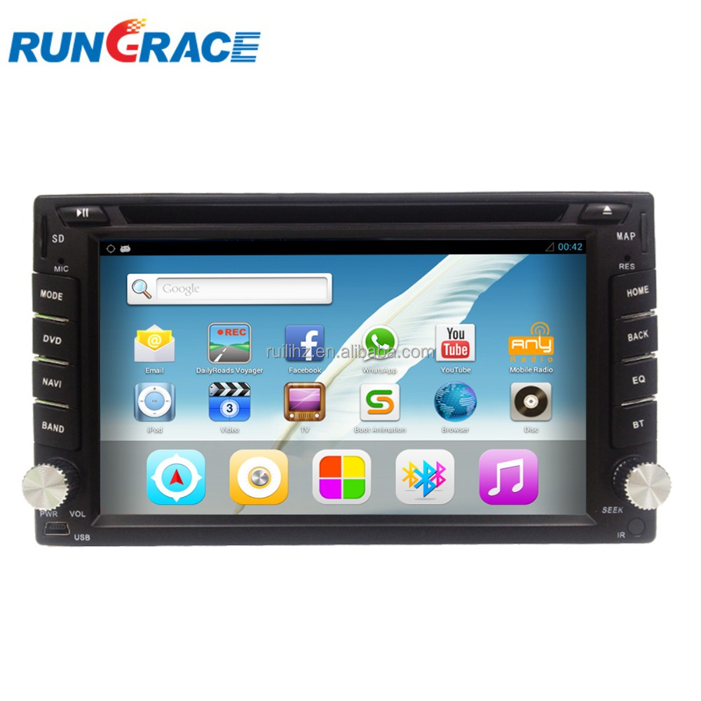 in-dash universal gps navigation Android toyota corolla car stereo