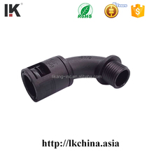 Rubber plastic pipe joint