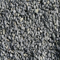 Natural black granite stone chips/gravel for driveway