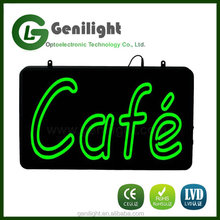 Fashion Coffee Advertising Cafe Display LED Sign Neon Light Sign Cafe Shop Decor