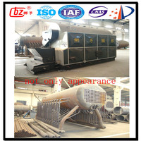 0.7 MW coal fired hot water boiler heating 6000 square meter