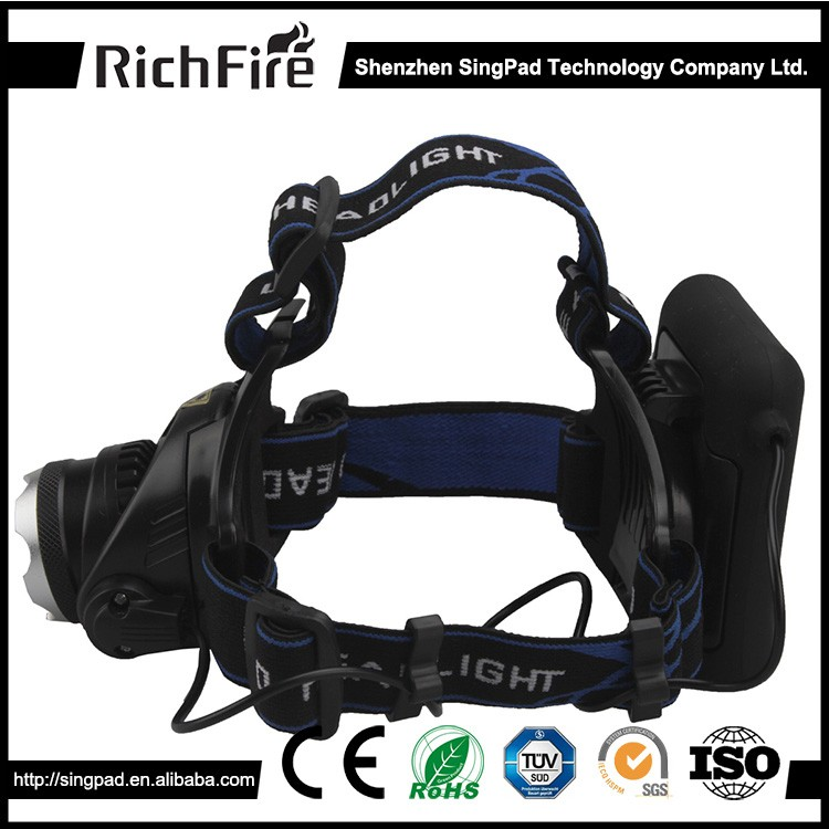 Wholesale From China dry battery 300 head torch and led mini headlamps
