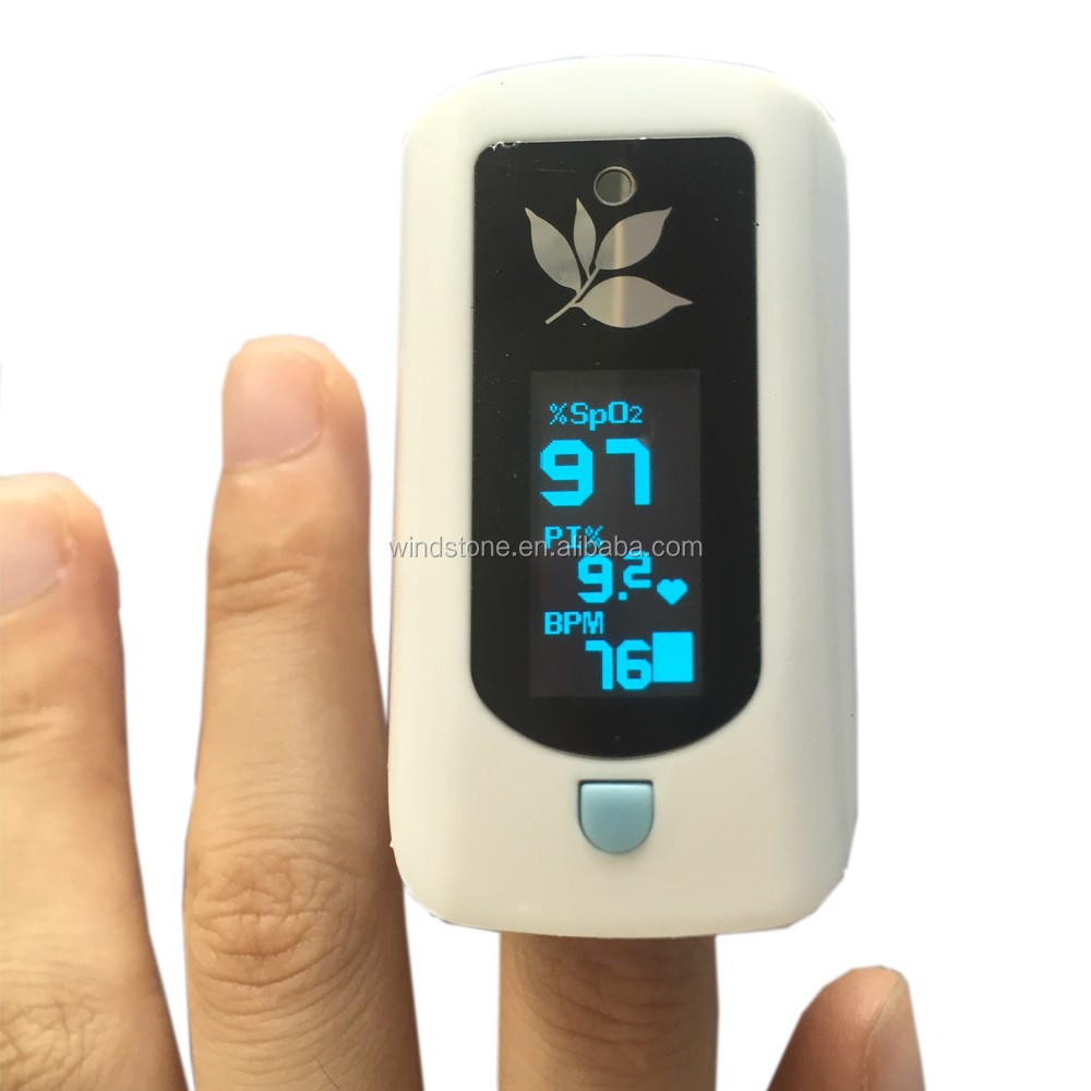 Fingertip Pulse Oximeter Digital Thermometer No.1 Doctor Recommened 24 Hours Care