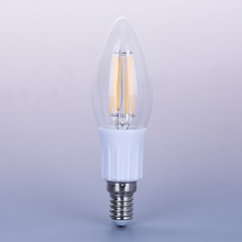 Wholesale C35 4W 220V E14/E27 Dimmable Led Filament Candle Light with CE RoHS