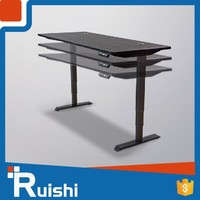 Ruishi brand electric desk with control panel durable adjustable desk