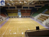 PVC Sports Flooring/Indoor Basketball Court Price(ANYWAY-BENNY)