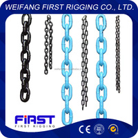 Welded DIN 766 short link chain