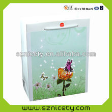 Clear sound audio paper bag