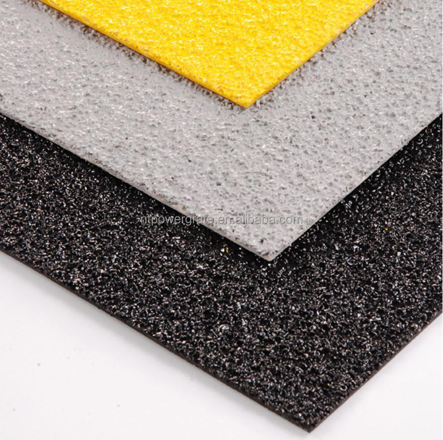 Powergrid antislip fiberglass flat sheet made in nantong for How is fiberglass made