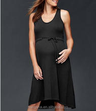 Sleeveless Maternity Wear Dress Pregnant Women Dresess HSD5153