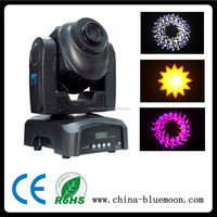 Mini dj 30w led spot moving head light