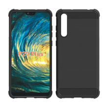Bulk Blank Silicone Newest Cell Phone Case Rubber TPU Shockproof Mobolie Cover For Huawei P20 Pro Cellphone Case
