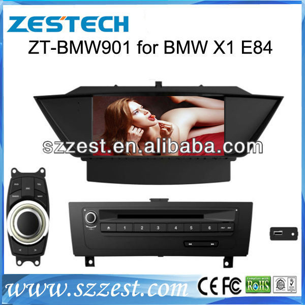 "ZESTECH car gps 9"" Touch Screen TV/Dvd player/bluetooth/GPS/DVB/ISDB for BMW X1 E84 car gps"