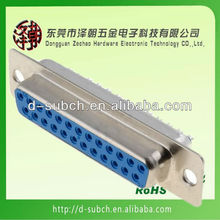 D-Sub 25/44 Pin Female Solder Type Connector db25 vga connector