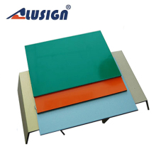 Alusign PVDF coating with 20 years gurantee exterior wall cladding acp sheets