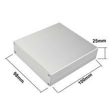 Custom small electronic aluminium enclosure box
