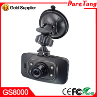 30% Discount price GS8000 CAR DVR with Ambarella solution with GPS G-SENSOR and best night vision HD 1080P car dvr camcorder