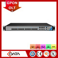 FTTH broadband access 1U rack 8 PON support SFP 10G OLT GPON