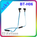Shenzhen Supplier Cable Headphone Bluetooth Earphone Earbud BT-H06