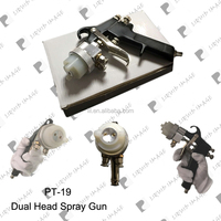 best selling liquid image silver spray painting system chrome spray gun NO. PT-19