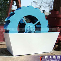 Small Sand Washer with Low Bearing Damage