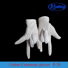 Marching Band Bridal Lady Dress Long Parade White Inspection Gloves Black Uniform