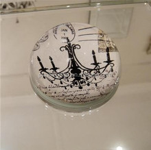 wholesale magnifying crystal glass dome paperweight MH-ZZ005
