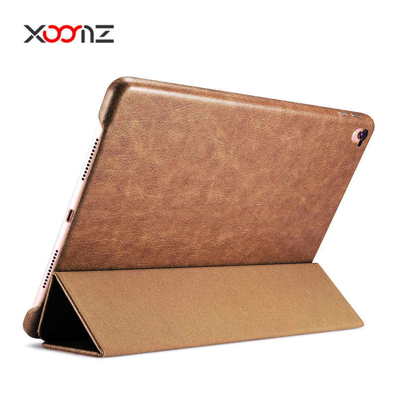 XOOMZ PU Leather Stand Case for Apple iPad Pro 9.7 Inch Flip Cover with Wake Up / Sleep Smart Function